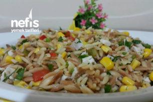 Tavuklu Arpa Şehriye Salatası (Enfes) Tarifi