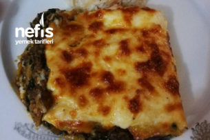 Beşamel Soslu Ispanaklı Mantarlı Patates Oturtma Tarifi