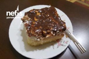 Fındıklı Çikolata Soslu Pasta Tarifi