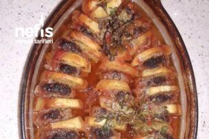 Köfteli Fırında Lezetli Patates Yemeğim Tarifi