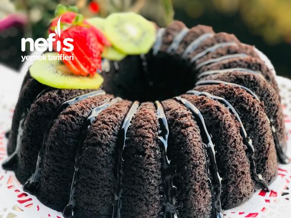 Tencerede Buharda Kakaolu Kek (nemli Sünger Gibi)