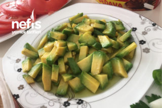 Zeytinyağlı Avokado Tarifi