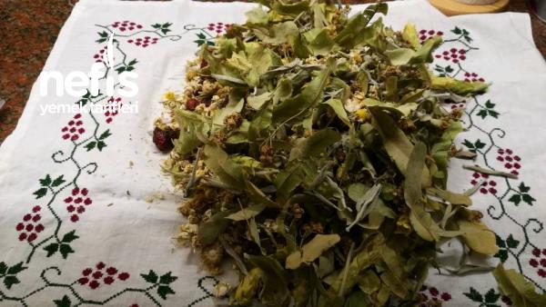 Evde Kış Çayı Hazırlanışı (Ev Yapımı Şifa Çayı)