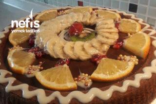 Karamelli Çikolatalı Tart Pasta (Efsane) Tarifi