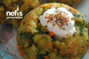 Patatesli Kuş Yuvası Salatası Tarifi