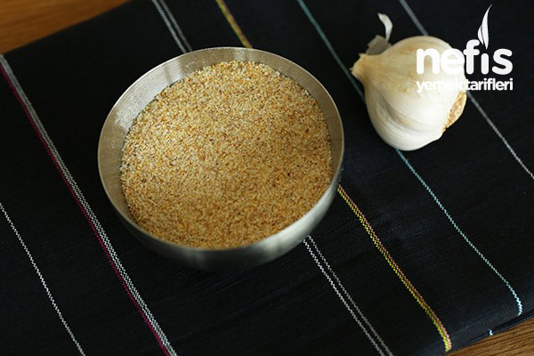 sarımsak tozu yapımı