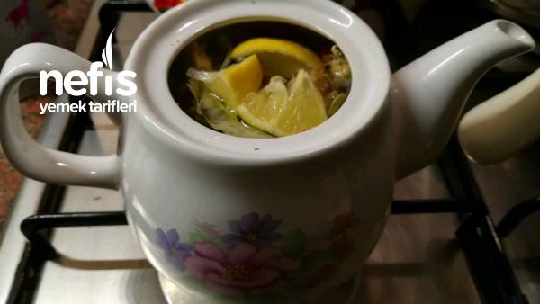 Ev Yapımı Demleme Kış Çayı