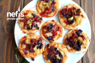 Mini Kahvaltılık Pizza Tarifi