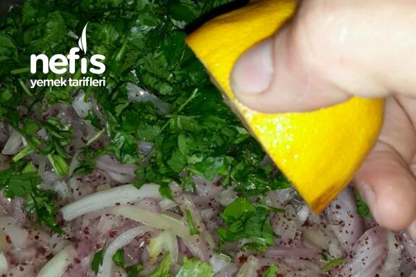 Sumakli Narli Soğan Salatasi