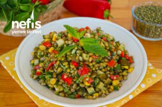 Maş Fasulyesi Salatası - Yedikçe yiyeceksiniz :) Tarifi