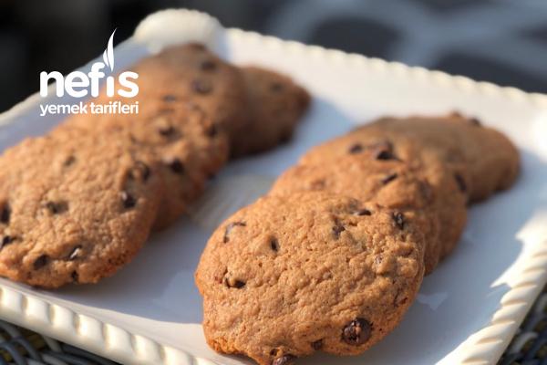 Starbucks Kurabiyesi (Chocolate Chip Cookies) Tarifi