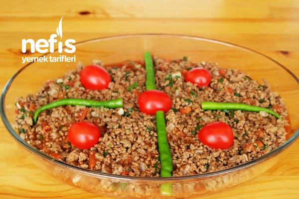 Fırında Kıymalı Patlıcan Musakka