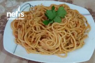 Spagetti (Tadı Tam Yerinde) Tarifi