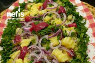 Süper Lezzetli Patates Salatası Tarifi