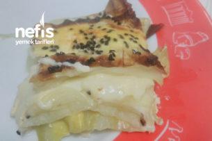 Lahanadan Peynirli Börek Tarifi