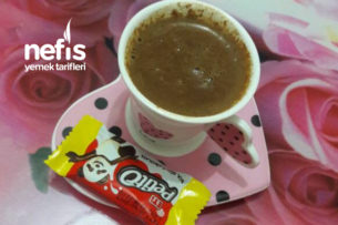 Sütlü Damla Çikolatalı Türk Kahvesi Tarifi