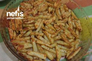 Az Yağlı Elma Dilimi Fırında Patates Tarifi