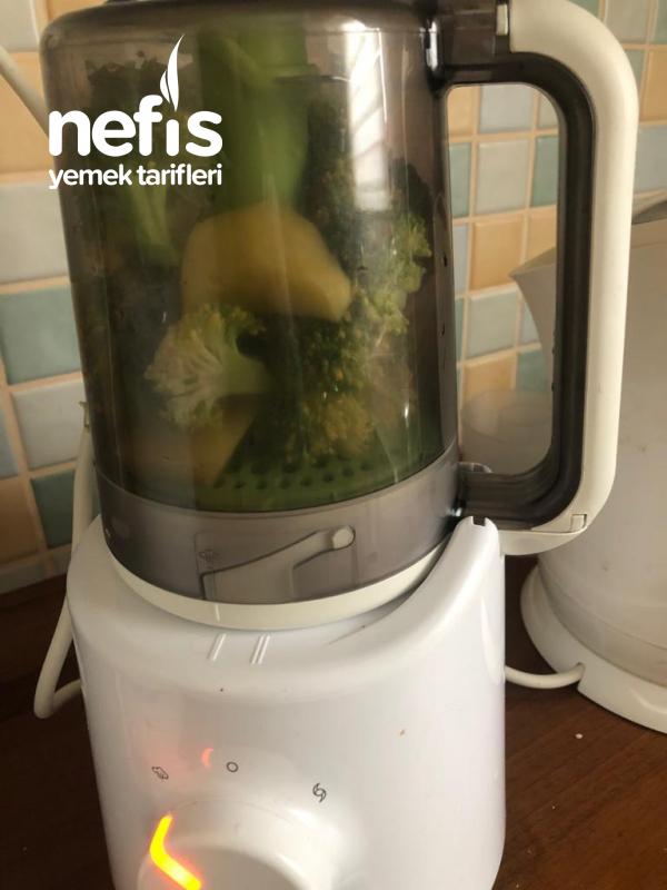 Bebeklere Brokoli Çorbası 6+ Ay