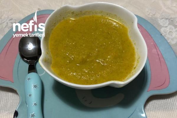 Bebeklere Brokoli Çorbası 6+ Ay Tarifi