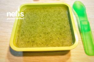 Bebeklere Devam Sütlü Brokoli Çorbası Tarifi