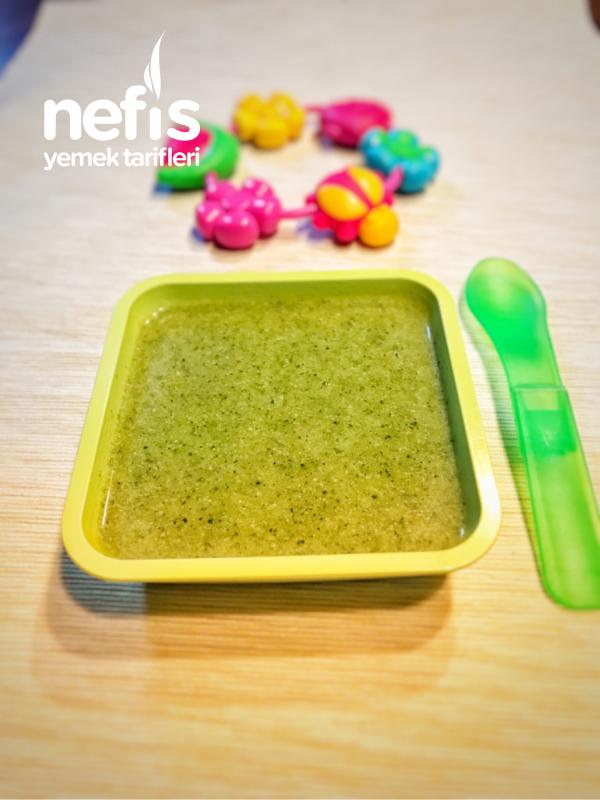 Bebeklere Devam Sütlü Brokoli Çorbası