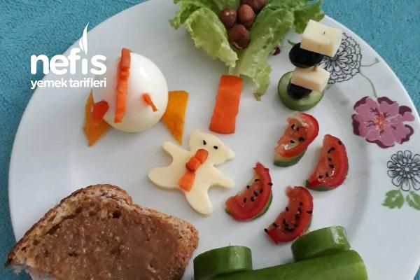 Çocuğa Kahvaltıyı Sevdirme Tarifi
