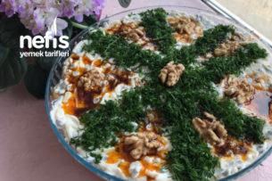 Erişteli Yeşil Mercimek Salatası Tarifi
