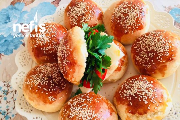 Hamburger Ekmeği (Ev Yapımı)