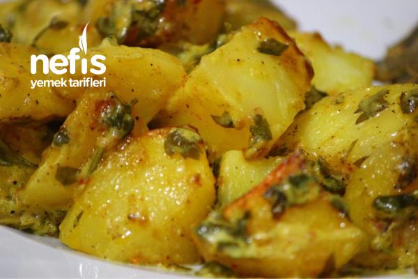 Balık Yanına Kremalı Patates
