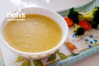 Bebeklere Brokoli Çorbası (6+) Tarifi