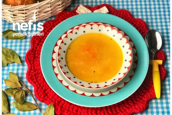 Zencefilli Kış Çorbası ( 9 Ay) Tarifi