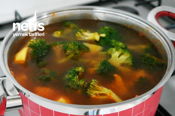 Zeytinyağlı Brokoli Yemeği