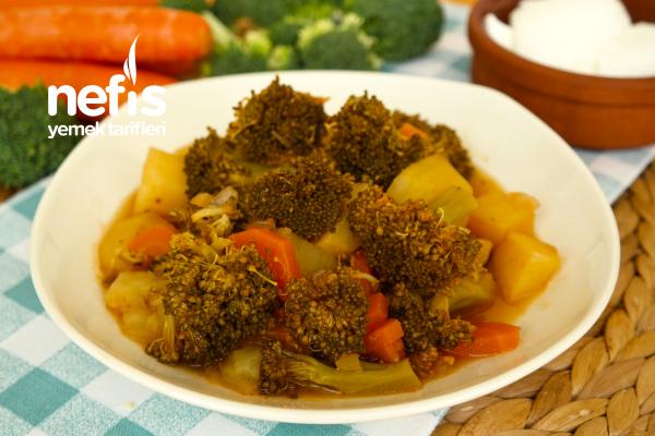Zeytinyağlı Brokoli Yemeği Tarifi (videolu)