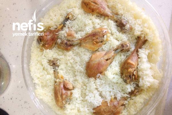 Fırında Tavuk ve Pilav Tarifi