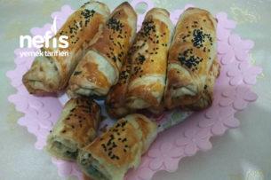 Çıtır Börek (Ispanaklı-Peynirli) Tarifi