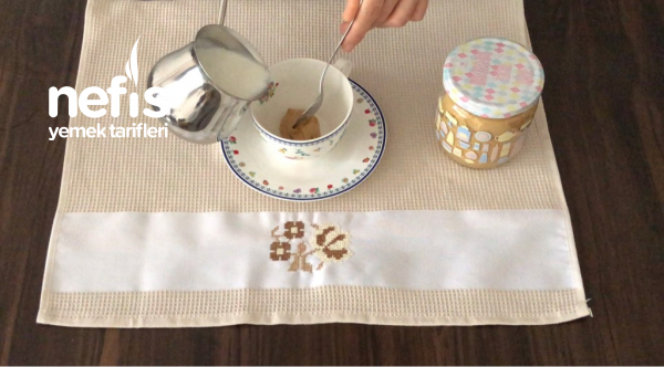 Ev Yapımı 1 Ay Saklanabilen Cappuccino