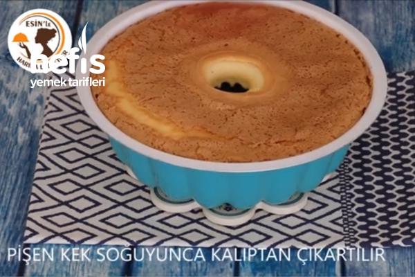 Unsuz, Yağsız Pamuk Kek (videolu)