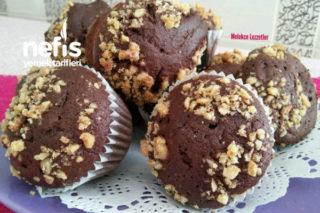 Kakaolu Cevizli Muffin Top Kek Tarifi