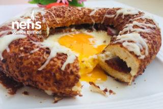 Simit Tava (Tek Başına Kahvaltı) Tarifi