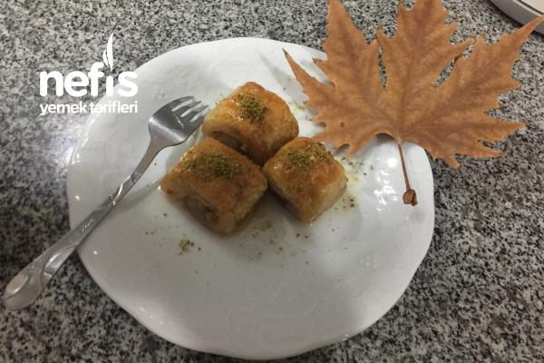 Şipşak Milföy Tatlı Tarifi