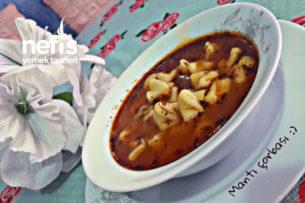 Tavuk Bulyonlu Mantı (Yüksük) Çorbası Tarifi
