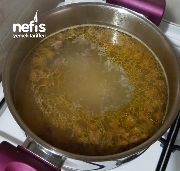 Bulgurlu Topçata Çorbası (supa Topçata)