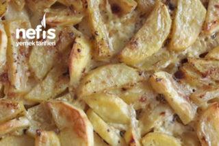 Elma Dilim Kremalı Patates (Tavuk Ve Et Yemekleri Eşliğinde) Tarifi