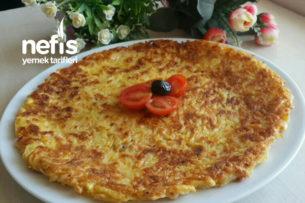 Kahvaltıya Pratik Patates Tava Tarifi