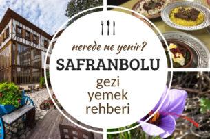 safranbolu'da ne yenir