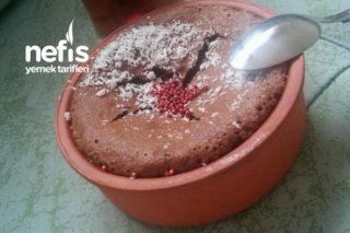 7 Dakika Da Mis Çikolatalı Suffle Tarifi