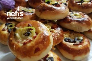 Derin Dondurucuya Pizza Poğaça (Tarif İsteten) Tarifi