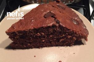 Muzlu Ve Kakaolu Pudingli Çikolatalı Kek Tarifi