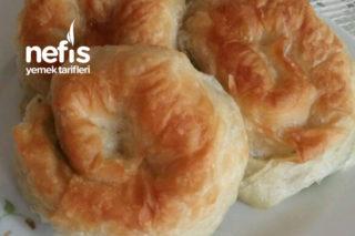 Peynirli Gül Börek (Ertesi Gün Böreği) Tarifi