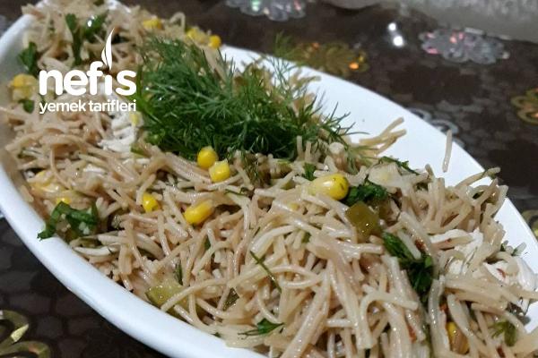 Tavuklu Tel Şehriye Salatası Tarifi